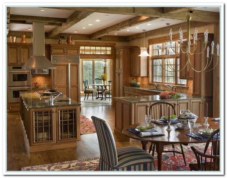 Country kitchen design ideas home design interior for Country rustic kitchen ideas