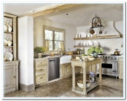 rustic french country kitchens