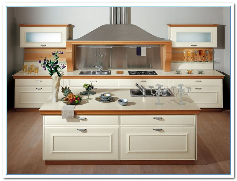 Simple kitchen cabinet design for Basic small kitchen designs