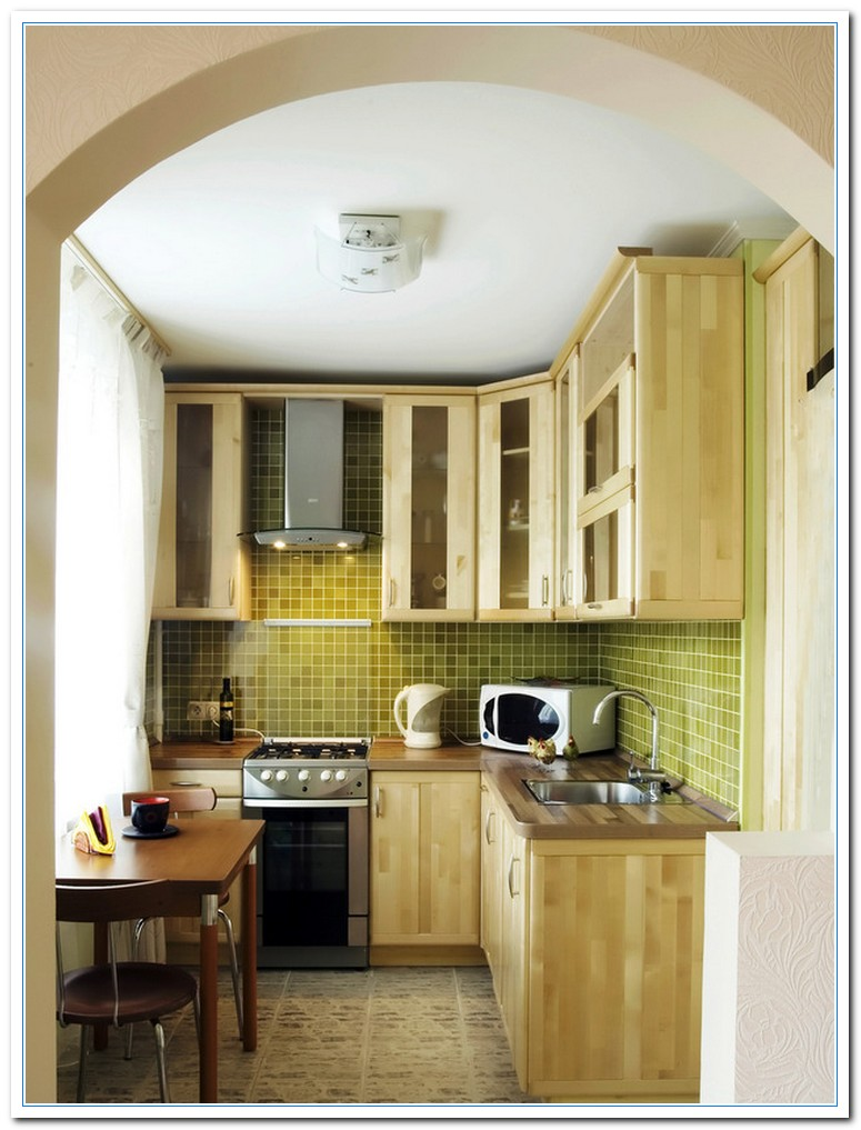 Information on Small Kitchen Design Ideas | Home and Cabinet Reviews
