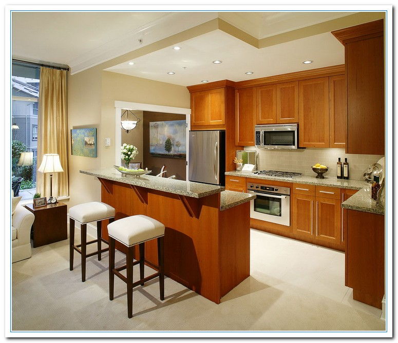 Kitchen Layout Ideas For Small Kitchens: Information On Small Kitchen Design Ideas