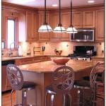 spacing pendant lights over kitchen island