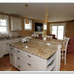 The Modest Kitchen Countertops: St Cecelia Granite