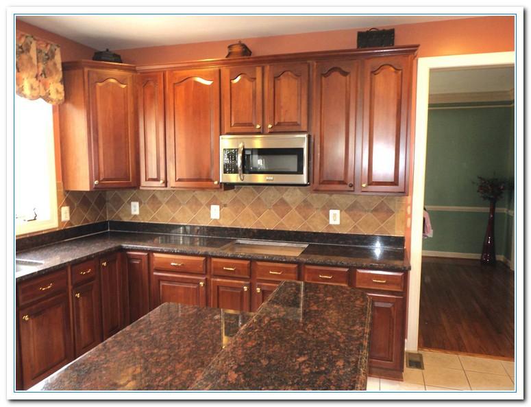 tan brown granite countertop pictures