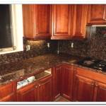tan brown granite kitchen
