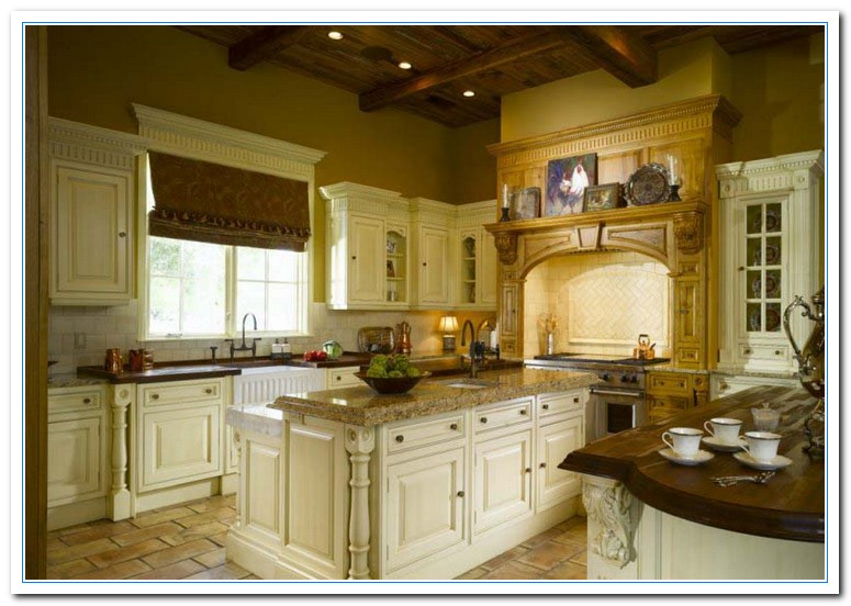 Traditional home kitchens home and cabinet reviews for Traditional home kitchens 2015
