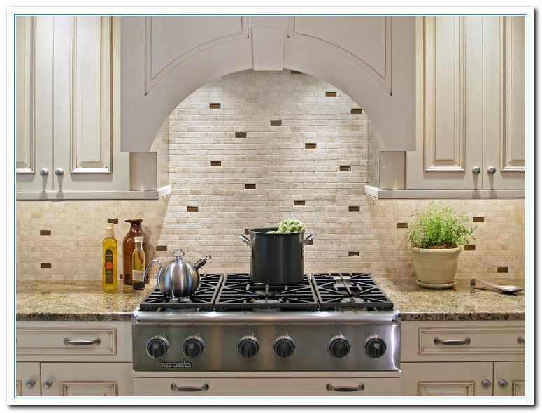 Traditional home kitchens home and cabinet reviews - Traditional kitchen tile backsplash ideas ...