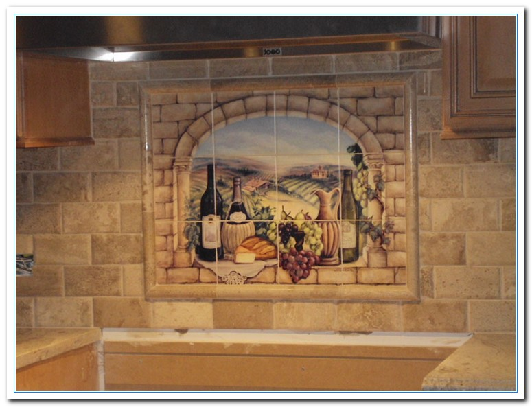 ideas in making tuscan backsplash home and cabinet reviews