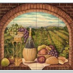 tuscan tile backsplash ideas