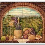 tuscan tile backsplash ideas