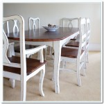 two tone kitchen tables