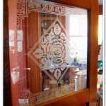 victorian etched glass designs