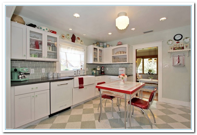 Information on vintage kitchen ideas for vintage design for Vintage kitchen designs photos