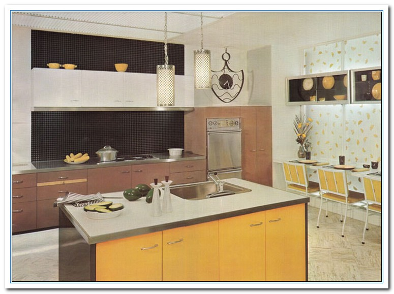 Information on vintage kitchen ideas for vintage design for Vintage kitchen island ideas