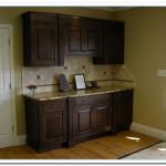 walnut cabinets kitchen