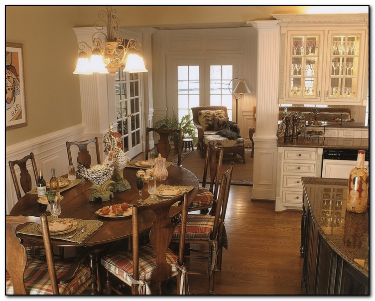 White French Country Kitchen Cabinets Part 93