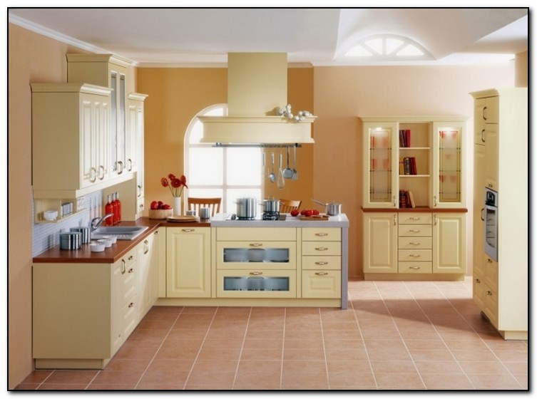 Alluring Yellow Paint Colors For Kitchen Kitchen Paint