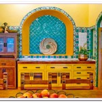Yellow and Blue Kitchen Ideas