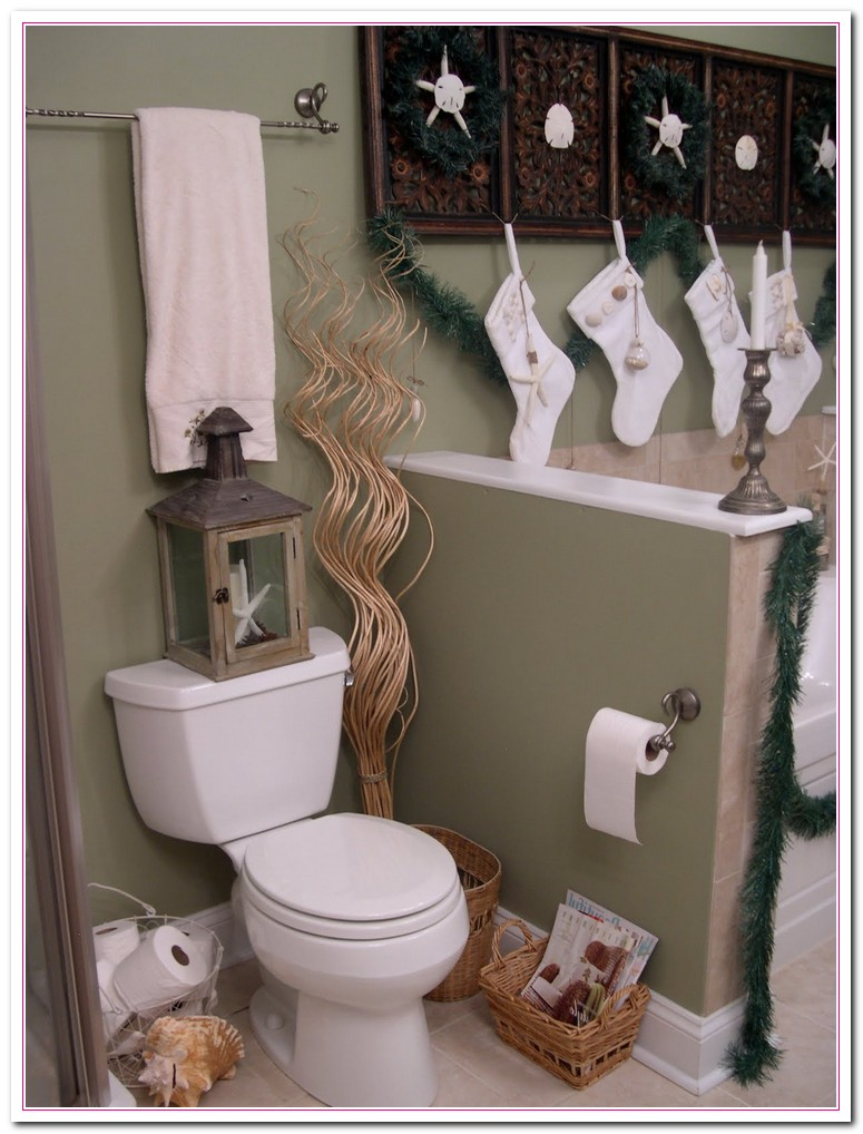 Amusing 50 cheap bathroom decorating ideas for small for Bathroom hanging decorations