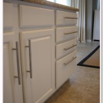 kitchen cabinets painted white