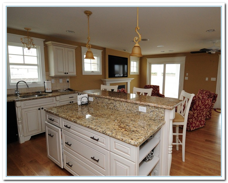 White Cabinets With Granite Countertops Home And Cabinet Reviews - Granite countertops in kitchens