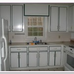 refinishing kitchen cabinets white