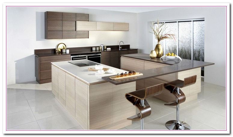 white colored kitchen and granite countertop selection
