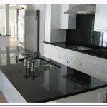 white cabinets black granite countertops