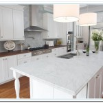 White Countertops for Elegant Cabinetry