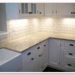 white subway tile kitchen backsplash pictures