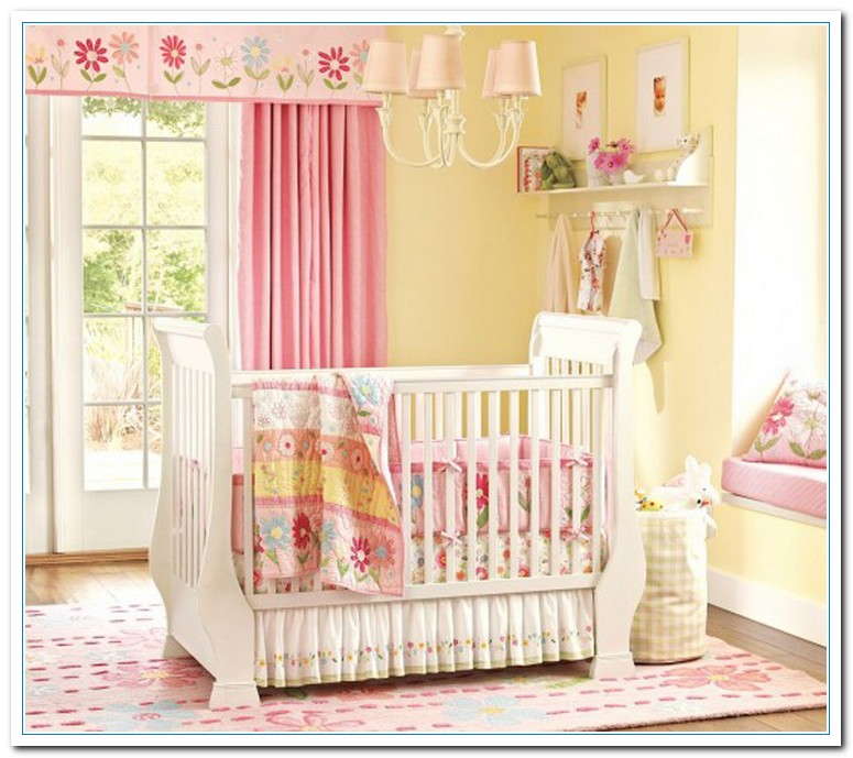 cute baby girl bedroom themes