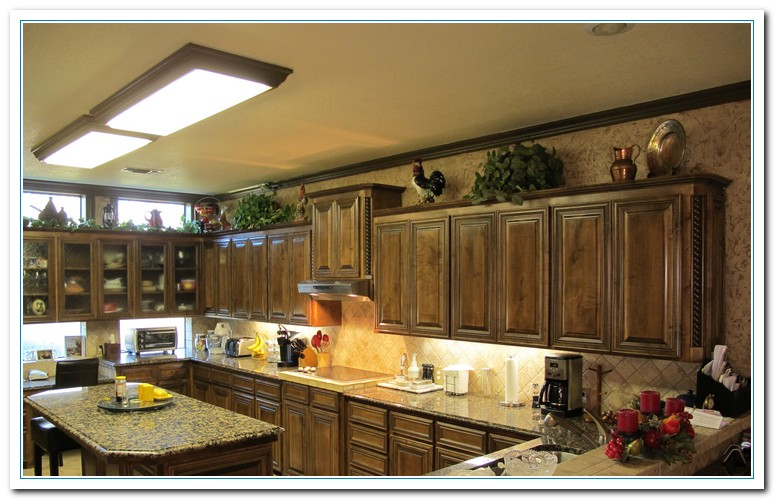 Tips for kitchen counters decor home and cabinet reviews - Kitchen counter decoration ...