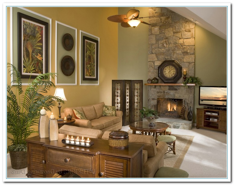 Decorating A Large Living Room Wall Modern House
