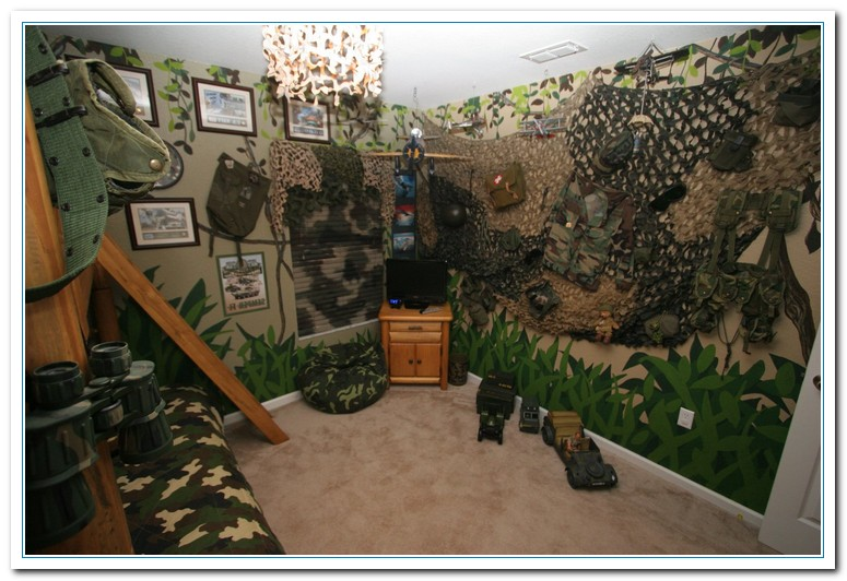 hunting bedroom decor