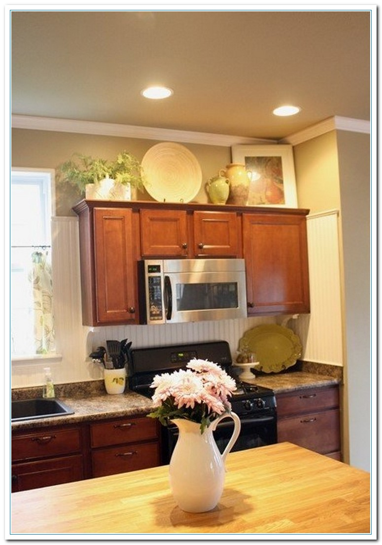 Decorating Cabinets Ideas Kitchen Cabinet Decor Decobizz Above Kitchen Cabinet Decor Ideas