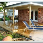 Decking Ideas Designs for Patio