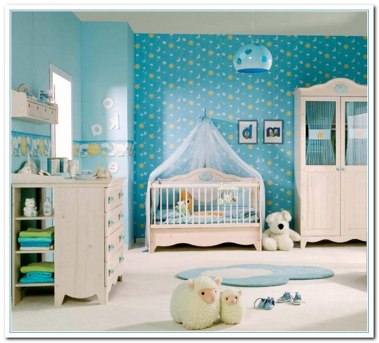 Five themes ideas for baby girl room decor home and for Baby mural ideas