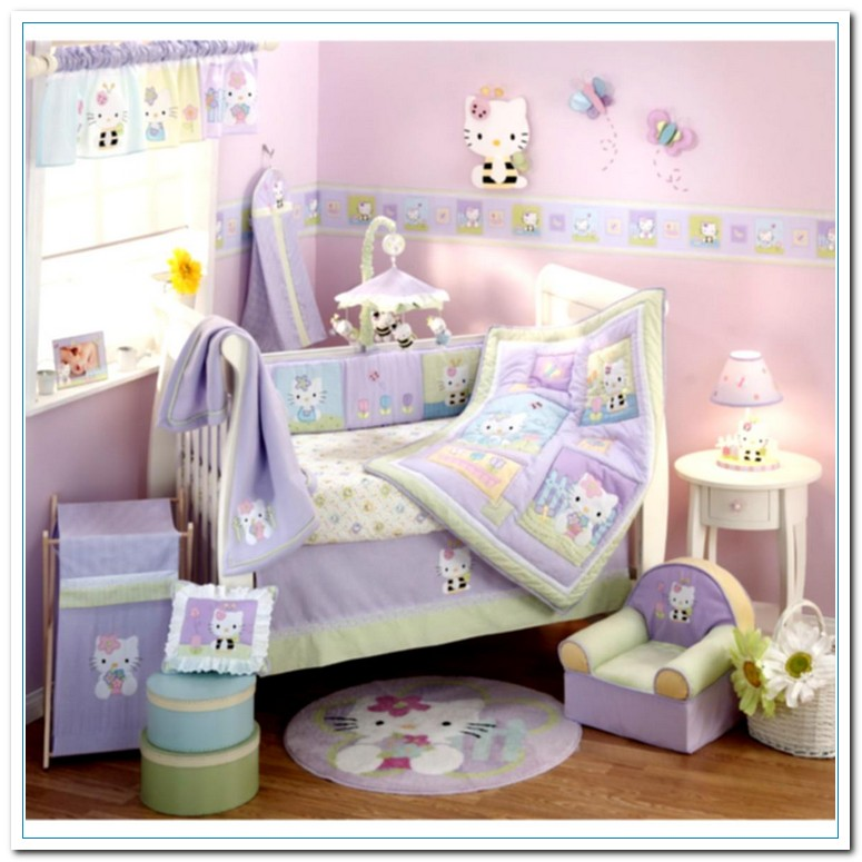Baby Girl Themed Bedroom Ideas