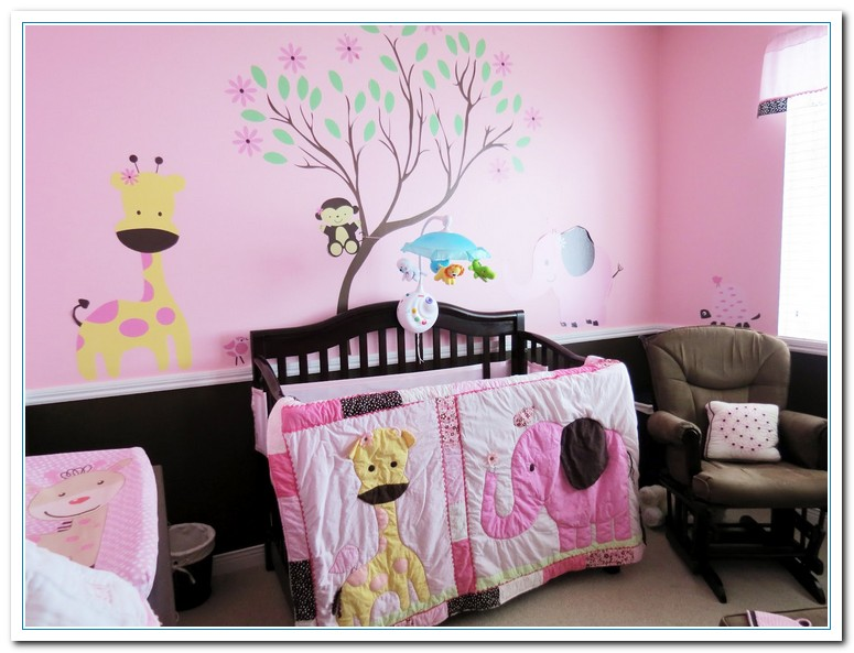 Cute baby girl room themes home and cabinet reviews Baby room themes for girl