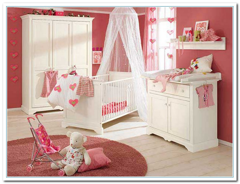 The painting color combination for baby s bedroom home for Baby girl bedroom decoration