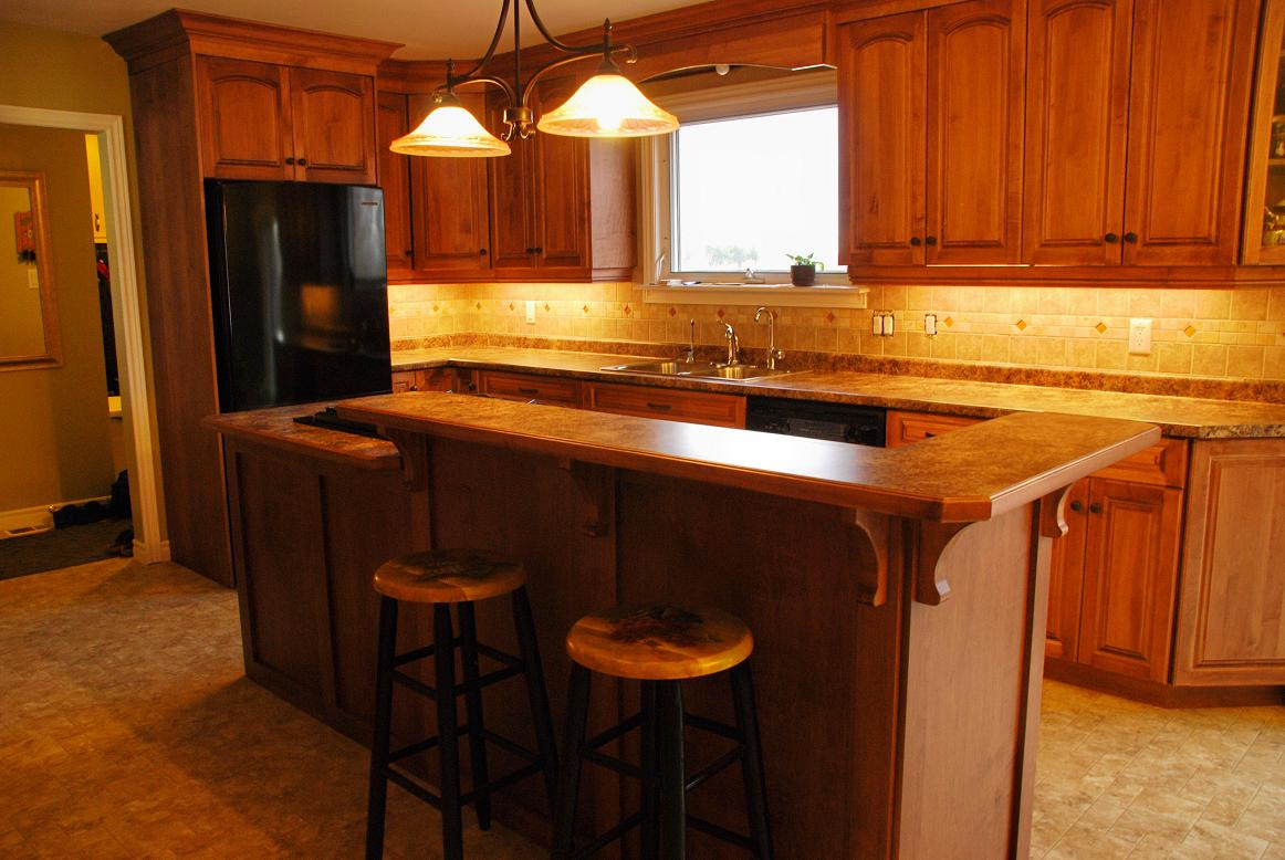 Simple american kitchen design - American Kitchen Cabinets