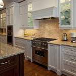 Elegant White Kitchen: Tip and Trick Backsplash Details