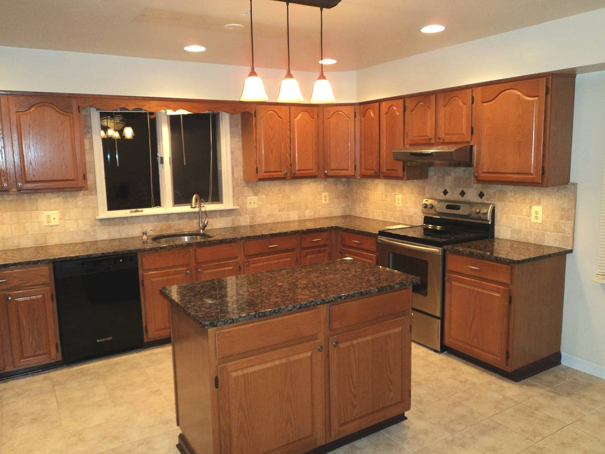 brown laminate countertops - Themed Kitchen Design