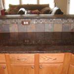 chocolate brown granite countertops