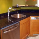 coffee brown granite countertops