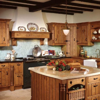 country style kitchen decorating ideas