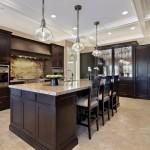 dark cabinet kitchen ideas