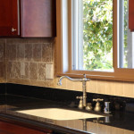ideas for kitchen backsplash with granite countertops