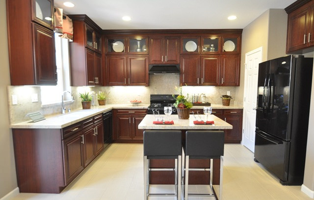 kitchen cabinets online design