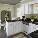 what color to paint a kitchen with white cabinets